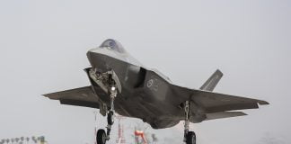 F-35A arrives in Australia