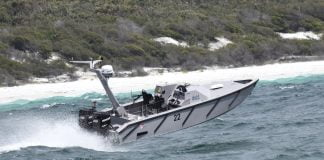 The Maritime Autonomy Surface Testbed from the Defence Science and Technology Laboratory (UK).