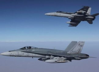 Royal Australian Air Force F/A-18 AB Hornet