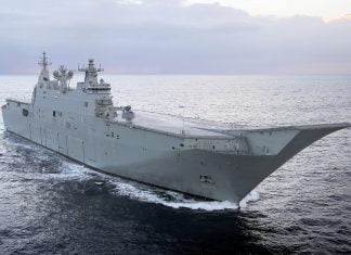 australian-and-indian-defence-industry-team-up-on-board-hmas-canberra