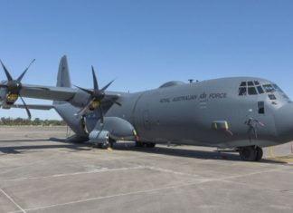 C-130J Hercules transport