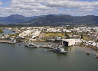 HMAS-Cairns-industry-partnership