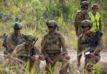 army-Shoalwater Bay Training Area, QLD.