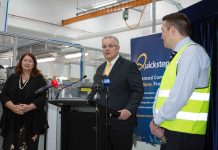 Quickstep Advanced Manufacturing Facility Opened in Bankstown
