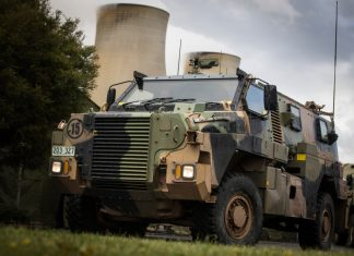 A Bushmaster Protected Mobility Vehicle