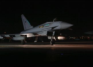 Eurofighter Typhoon – to be replaced around 2040. Credit: CoA / Michael Green